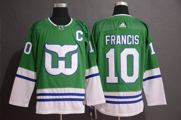 Adidas Whalers #11 Kevin Dineen Green Authentic Stitched NHL Jersey