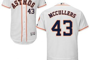 Astros #43 Lance McCullers White Flexbase Authentic Collection Stitched MLB Jersey