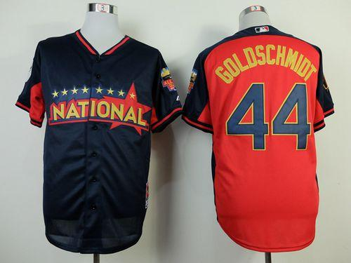 Diamondbacks #44 Paul Goldschmidt Red 2018 All-Star National League Stitched MLB Jersey