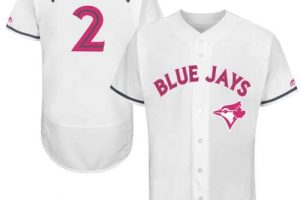 Blue Jays #2 Troy Tulowitzki White Flexbase Authentic Collection Mother's Day Stitched MLB Jersey