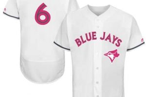 Blue Jays #6 Marcus Stroman White Flexbase Authentic Collection Mother's Day Stitched MLB Jersey