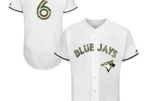 Blue Jays #6 Marcus Stroman White Flexbase Authentic Collection Memorial Day Stitched MLB Jersey