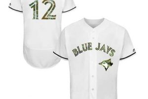 Blue Jays #12 Roberto Alomar White Flexbase Authentic Collection Memorial Day Stitched MLB Jersey