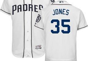 Padres #35 Randy Jones White Flexbase Authentic Collection Stitched MLB Jersey