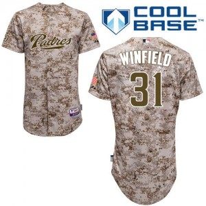 Padres #31 Dave Winfield Camo Realtree Collection Cool Base Stitched MLB Jersey