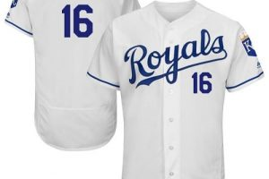 Royals #16 Paulo Orlando White Flexbase Authentic Collection Stitched MLB Jersey