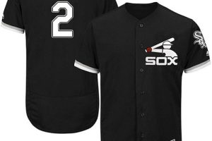 White Sox #2 Nellie Fox Black Flexbase Authentic Collection Stitched MLB Jersey